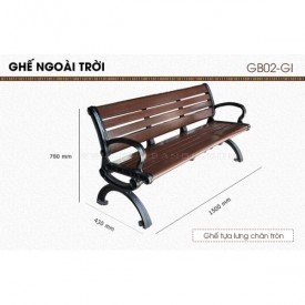 Ghế ngoài trời GB02-GI