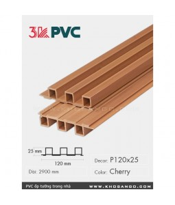 3K Pvc Decor P120x25 Cherry
