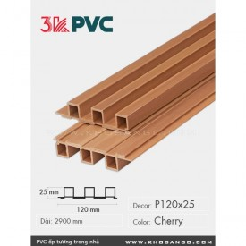 3K Pvc Decor P120x25 Cherry