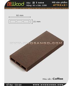 ván sàn ngoài trời AT92x21 coffee