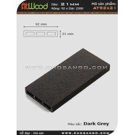 ván sàn ngoài trời AT92x21 dark grey