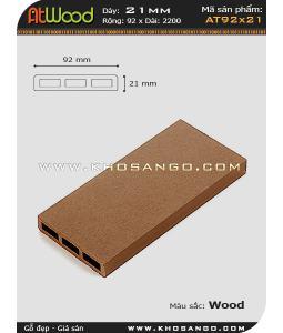 ván sàn ngoài trời AT92x21 wood