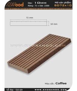 Awood Decking SD72x10-coffee