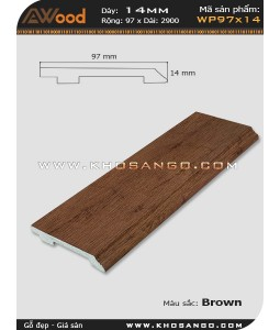 WP 97x14_Brown