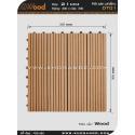 Vĩ gỗ lót sàn Awood DT01_vân gỗ K2
