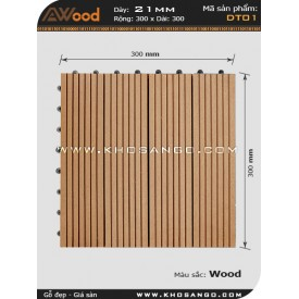 Gạch gỗ AWood DT01 Wood
