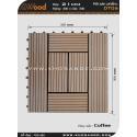 Vĩ gỗ lót sàn Awood DT06_cafe