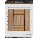 Vĩ gỗ lót sàn Awood DT06_vân gỗ