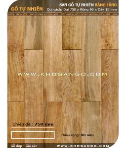 Sàn gỗ Bằng lăng 750mm