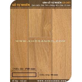 Sàn gỗ Cà chít 750mm