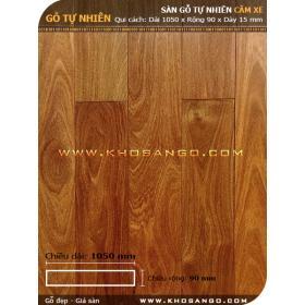 Sàn gỗ căm xe 1050mm