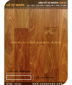 Sàn gỗ căm xe 450mm