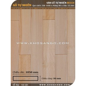 Sàn gỗ Dẻ gai 1050mm
