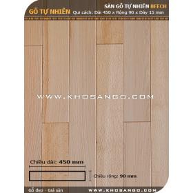 Sàn gỗ Dẻ gai 450mm