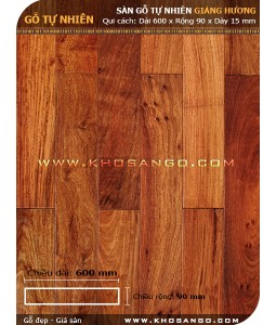 Sàn gỗ Giáng hương 600mm