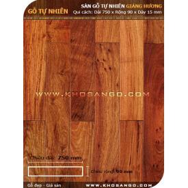 Sàn gỗ Giáng hương 750mm