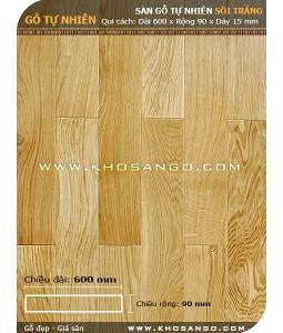 Oak hardwood flooring 600mm