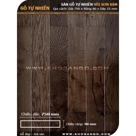 Sàn gỗ Sồi xám 750mm