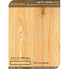 Sàn gỗ  thông 600mm