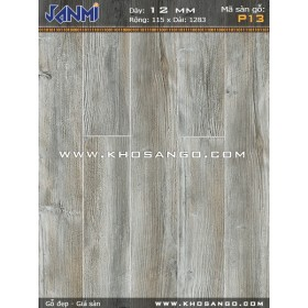 Sàn gỗ JANMI P13-12mm