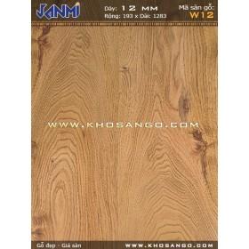 Sàn gỗ JANMI W12-12mm