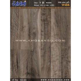 Sàn gỗ JANMI W26-12mm