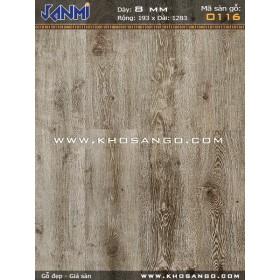 Sàn gỗ JANMI O116
