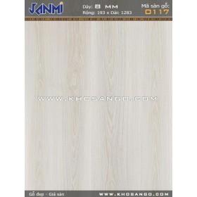 Sàn gỗ JANMI O117