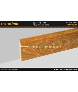 Laminate skirting AP409