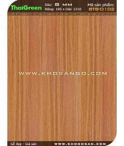 Sàn gỗ ThaiGreen BT8-0102