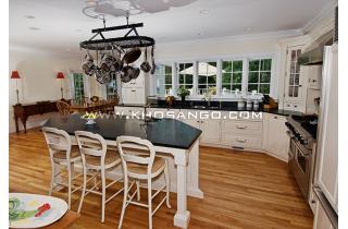 Sàn gỗ lát sàn phòng bếp cho chung cư, căn hộ cao cấp