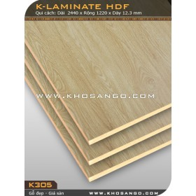 Ván Laminate HDF K305